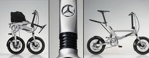 Складной велосипед Merdez Benz