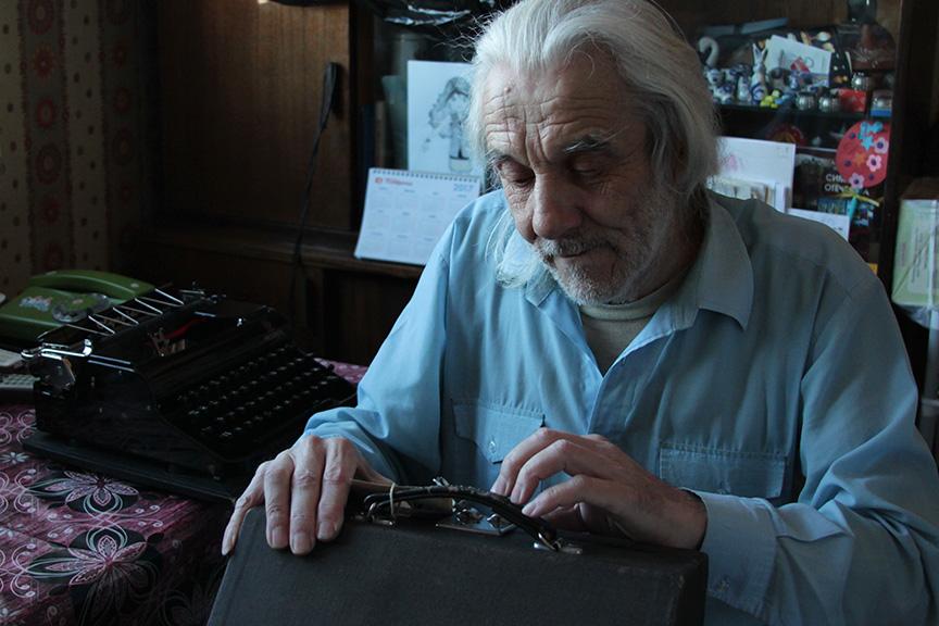 А.П. Селезнев, коллекционер и механик пишущих машин