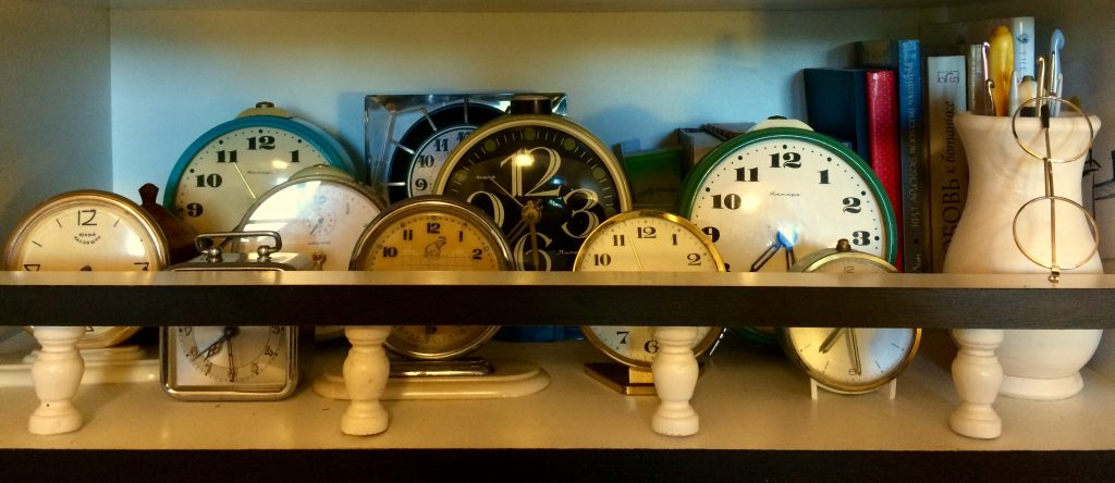 Часы будильники реставрация коллекция
